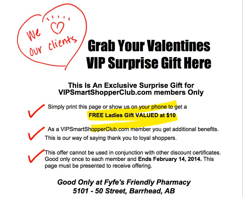 Ladies of Barrhead, AB VIPSmartShopperClub.com Exclusive